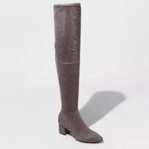 A New Day Heeled Over the Knee Boots 8